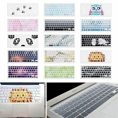 """Silicone Keyboard Skin Cover Film For Apple Macbook Pro 13"""" 15"""" Retina Air 13"""""""