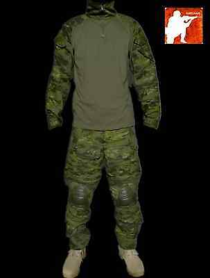 MULTICAM TROPIC Gen3 G3 Combat Suit Shirt Pants Hunting Tactical Airsoft Uniform
