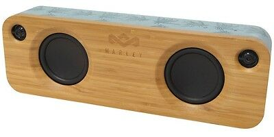 House Of Marley Get Together Blue Hemp Bluetooth Wireless Speaker (AC Powered)