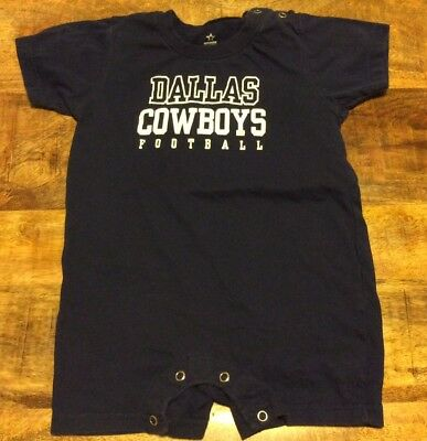 Toddler Boys Size 24 Months Nfl Football Dallas Cowboys One Piece Romper Outfit