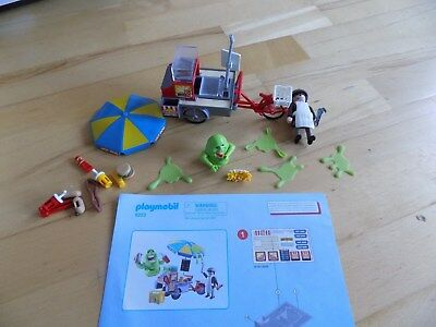 PLAYMOBIL 9222 - Slimer mit Hot Dog Stand Ghostbusters
