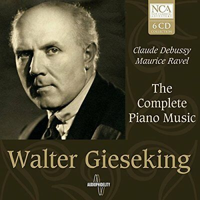 Walter Gieseking - Debussy/Ravel: The Complete Piano Music [CD]