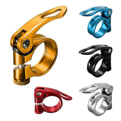 34.9mm Bicycle Seat Tube Clamp Quick Clamp Pipe Clamp A7P3 Y6B3 A3J8