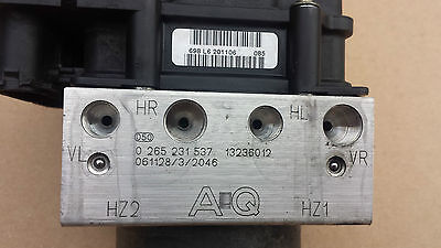 Vauxhall Corsa D ABS PUMP 13236012 AQ   0265231537   0265800422 WITH WARRANTY