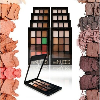 Popular 12 Color Eye Shadow Makeup Cosmetic Shimmer Matte Eyeshadow Palette New