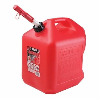 Midwest Can 5600 Spill Proof Gas Can, 5 Gallon, Red