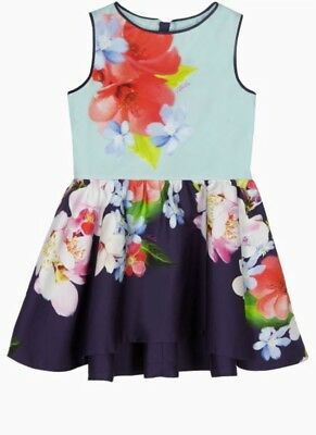 BNWT Ted Baker Floral Dress For Baby Girl 12-18 Months