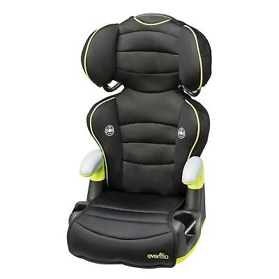 Child Toddler Big Kid High Back Booster Car Seat with Cup Holders Evenflo