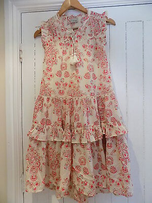 Next girls stunning loose float maxi dress size 10-11 years 11y BNWT