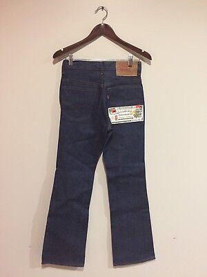 Vtg 80's LEVIS 517 Mens Boot Cut Denim Jeans Sz 28x31 New Old Stock Made in USA