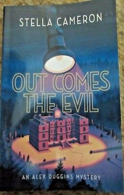 Out Comes the Evil by Stella Cameron (2017, Paperback) New Mystery