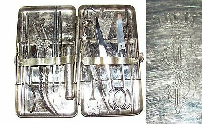 """Wwii 1900 Military Medical Tooling For First-Aid Treatment Germany """"aesculap"""""""