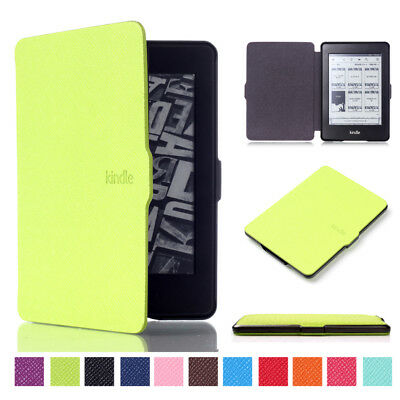 Ultra thin Magnetic Leather Smart Case Cover For Kindle Paperwhite 1/2/3 Voyage