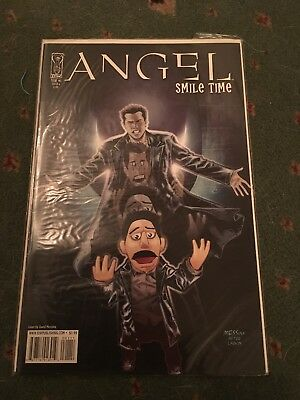 Angel: Smile Time #1 - Messina Cover