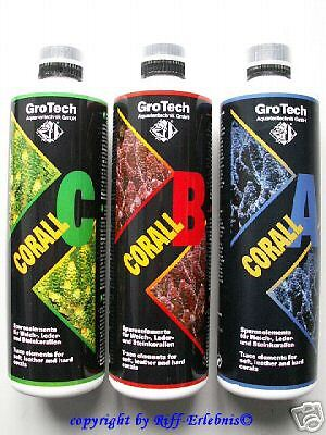 Grotech CORAIL A B C Set 3x500ml Gro TECH 27,30€/ L
