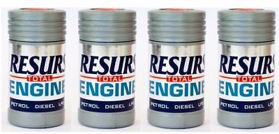 RESURS Total Nano Engine Oil Additive Engine Restorer 1.76oz 50 g LPG Petrol