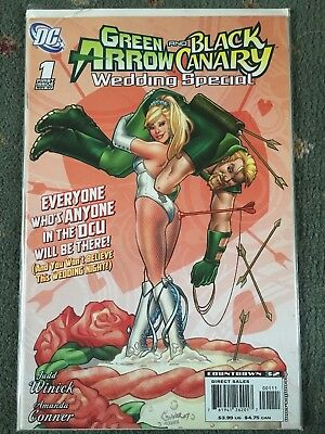 Green Arrow And Black Canary Wedding Special #1