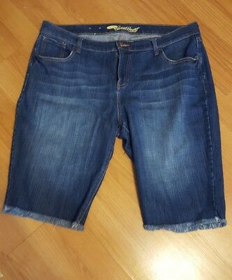 Old Navy The SweetHeart Womens Size 14 R Bermuda Denim Shorts EUC