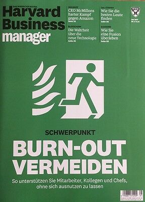 Harvard Business Manager 05/2017 | Burn-Out Vermeiden