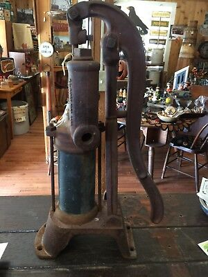 antique cast iron water pump