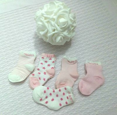 Calcetines Bebe Lote 5 Pares 0-12 Meses
