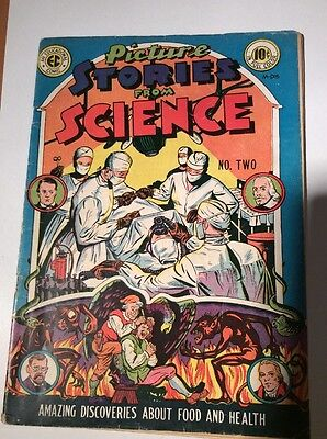 Picture Stories From Science # 2  1947 EC