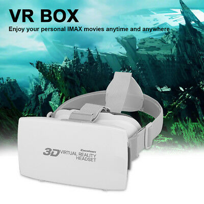 3D VR Headset Virtual Reality Glasses Adjustable Headband For Iphone Samsung