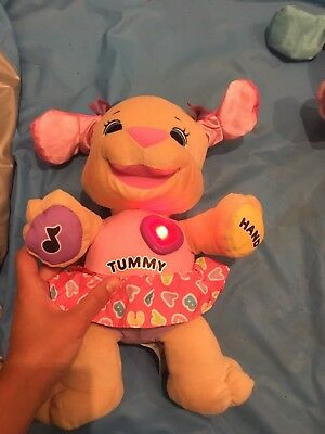 Fisher Price Laugh And Learn Puppy Music Lights Sounds Pink 6-36 Months Baby Toy
