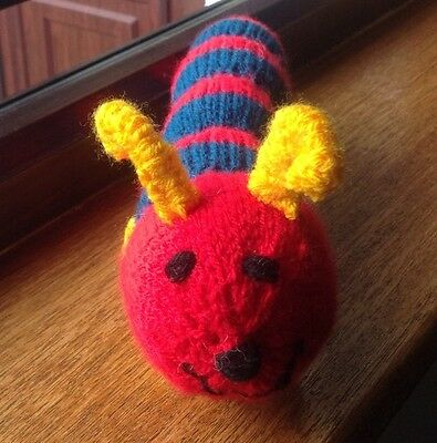 BRAND NEW CATNIP TOY -HORIS THE CATERPILLAR, SOLD For WHINNYBANK CAT RESCUE