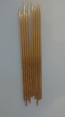 10x 10cm Silicon bronze knife making pins, 3.2mm thickness