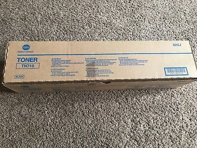 Konica Minolta TN710 Black Toner Genuine