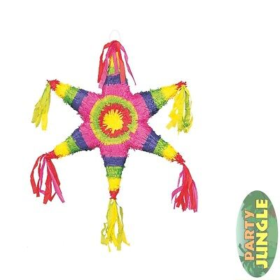 MEXICAN STAR UNIQUE PARTY CLASSIC PINATA party game childs birthday celebration