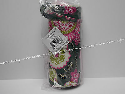1 - Baby Bottle Caddy - OLIVIA PINK - 100% Authentic - Vera Bradley NWT Holder