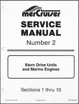 1974-1977 MerCruiser #2 Stern Drive Units and Marine Engines Service Manual CD