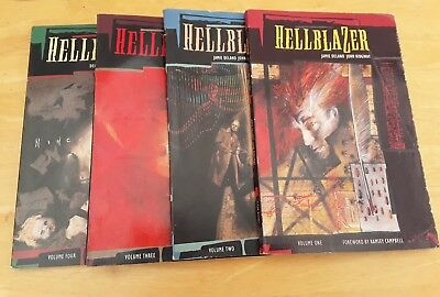 4 x John Constantine Hellblazer graphic novels, first editions, dated 1989