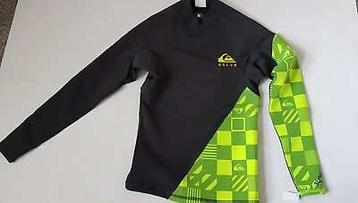Quiksilver Syncro 1mm  LS Wetsuit Top Surf SUP Watersports Top Mens Medium New