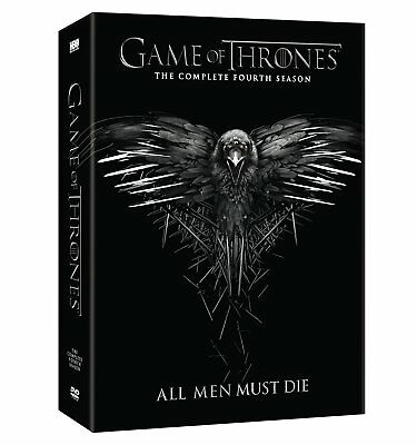 Game of Thrones The Complete Fourth Season 4 (DVD, 2015, 5-Disc Set) New!