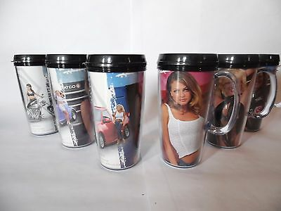Matco Tools Classic Playboy Playmate thermal mugs Stacey Sanchez Heather Kozar