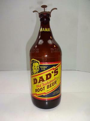 Vintage Dads Root Beer Mama Size Quart Bottle. Quincy Ill. Free Shipping!