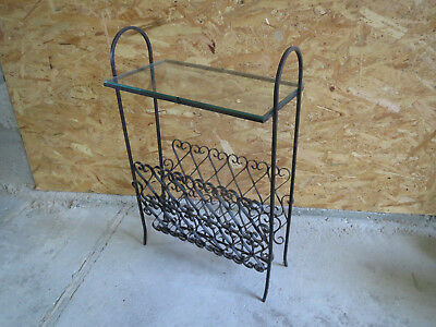 Antique door magazine small serving living room wrought iron deco vintage years