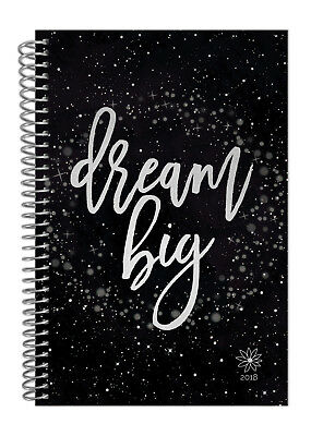 bloom daily planners 2018 Calendar Year Daily Planner, Dream Big, Jan-Dec