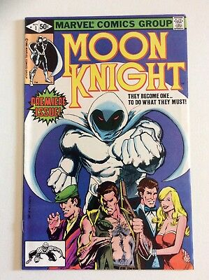 Moon Knight #1 - 1st Series! Coming to Netflix!! (1980, Marvel) FREE SHIPPING!!!