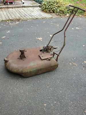 antique snappin turtle power mower