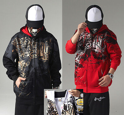 21 Men s Hip Hop RAP Ecko Unltd Hoodie Print Scrawl Fashion Hoodies Sweats 0a04efb3b04
