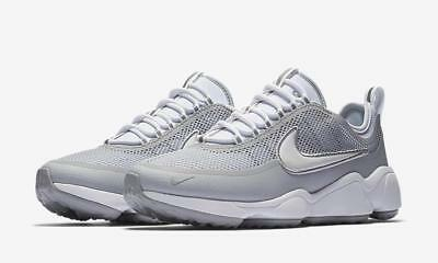 NIKE ZOOM AIR Spiridon Ultra Sprdn 876267 100 Whitewolf Grey Reflectivemesh