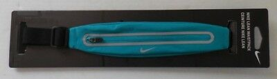 NIKE Expandable Running Lean WaistPack Unisex Turbo Green/Black/Silver New