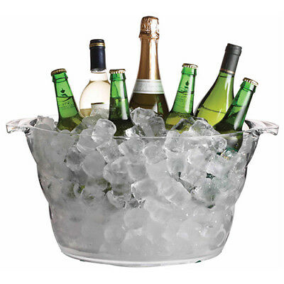 Bar Craft Mix It Acrylic Large Oval Drinks Pail / Cooler