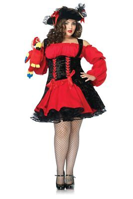 Plus Size Costumes Sexy Vixen Pirate Wench