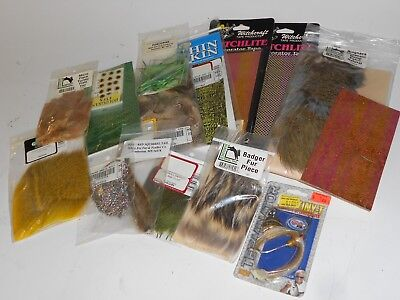 Fishing Fly Tying Materials