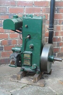 Lister D Stationary Engine - Spec 12 - Very Early & Rare